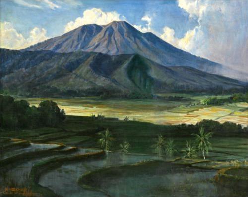 Mountain - Basuki Abdullah