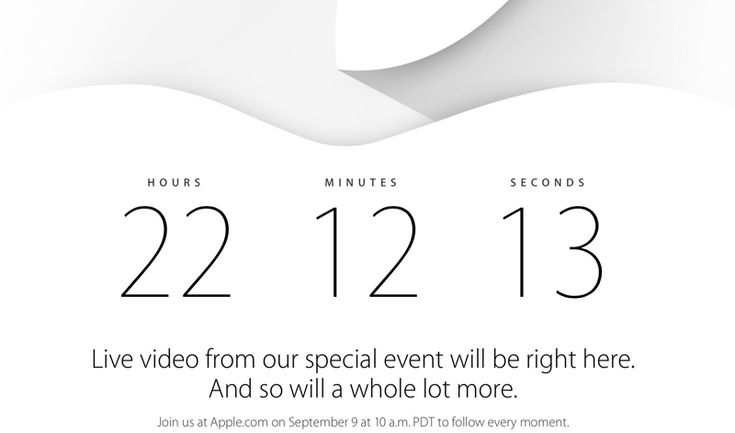 Apple Homepage Now Redirecting to Event Countdown Ahead of Tomorrow's Announcements