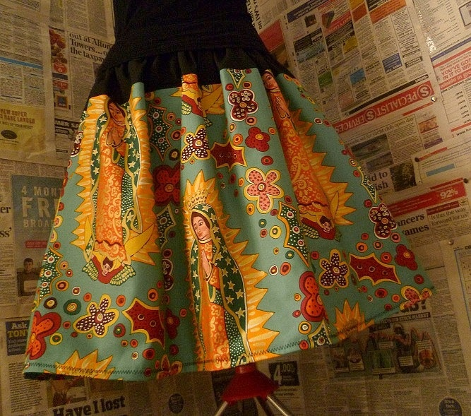 Cupro Skirt - LADY GUADALUPE by VIDA VIDA Hot Sale For Sale tUniW7q7