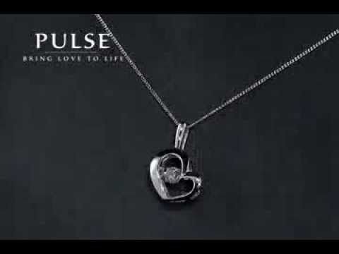 Pulse Heart Diamond Pendants - PP3113WG