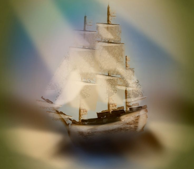 '#art #painting #annsofiart #annsofipainting #ship #shippainting #boat' created by Ann-Sofi in #neybers