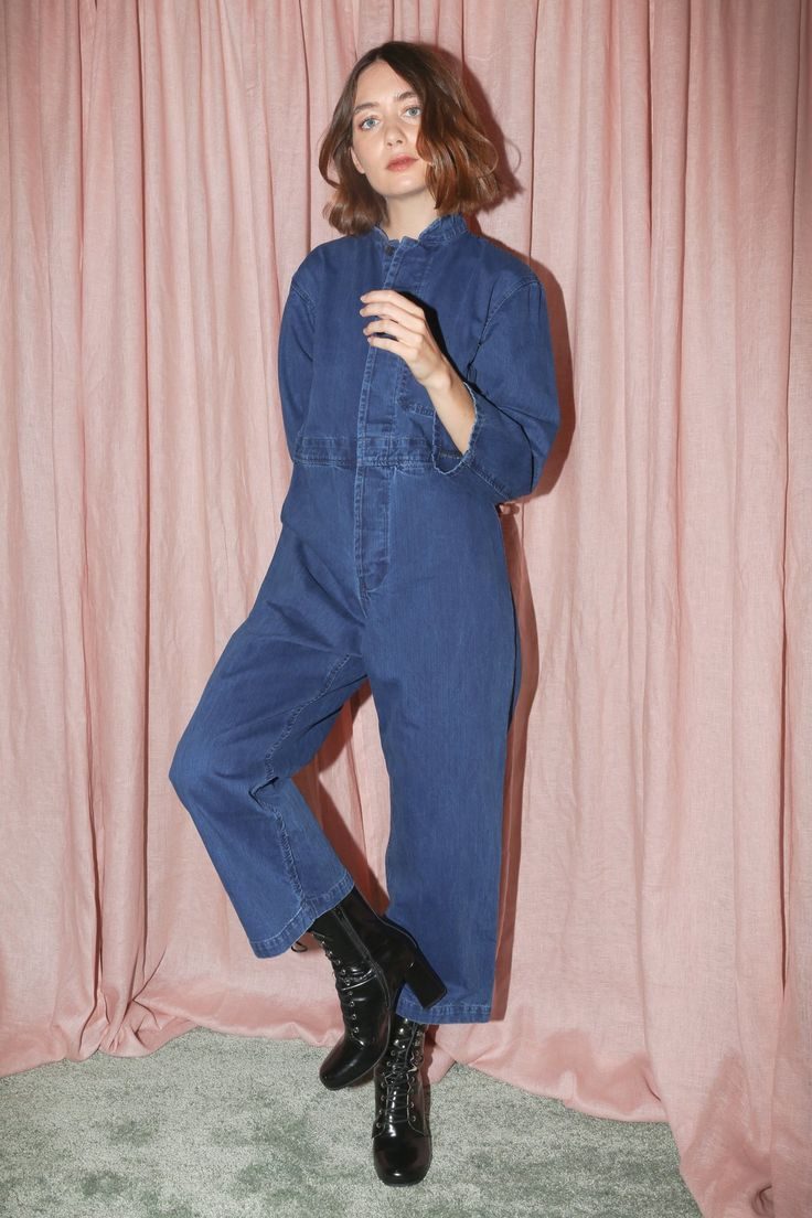 You don't need to be a mechanic, gardener, or painter to rock this hardworking one-piece. The boiler suit has been reimagined, shifting from handyman-ware to fashion-forward jumpsuit. As a singular piece that covers everything but your head, hands, and feet, the boiler suit is an easy, cool way to keep covered in the colder months.