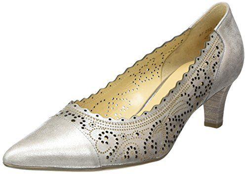 Gabor Shoes 41.252 Damen Pumps, Beige (61 puder), 36 EU - http://on-line-kaufen.de/gabor/36-eu-gabor-damen-pumps-5