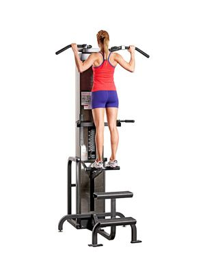 Assisted Chin-Up Machine - Fitnessmagazine.com