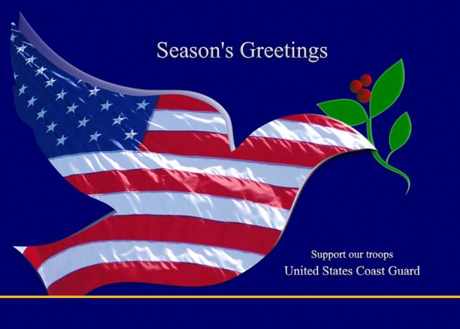 Season Rsquo S Greeting Support Our Troops Us Coast Guard Card Ad Sponsored Greeting Support Season R Support Our Troops Troops Us Army Reserve