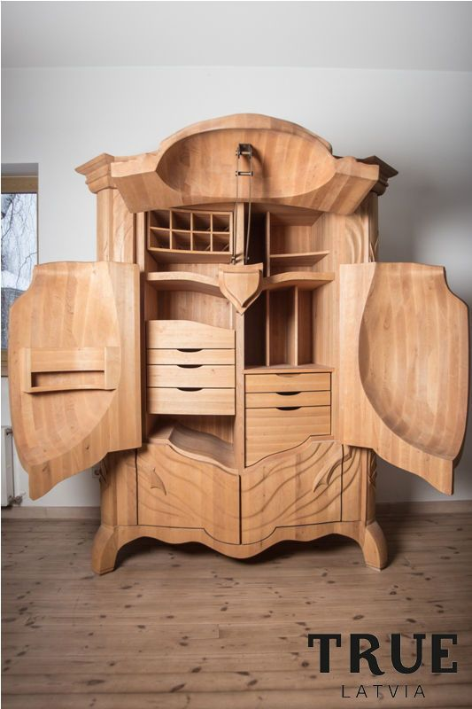 Magnificent Armoire Is Shaped Like a Beetle -