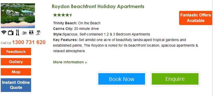 Roydon Beachfront Holiday Apartments http://www.fnqapartments.com/accom-roydon-beachfront-holiday-apartments-/ #trinitybeach