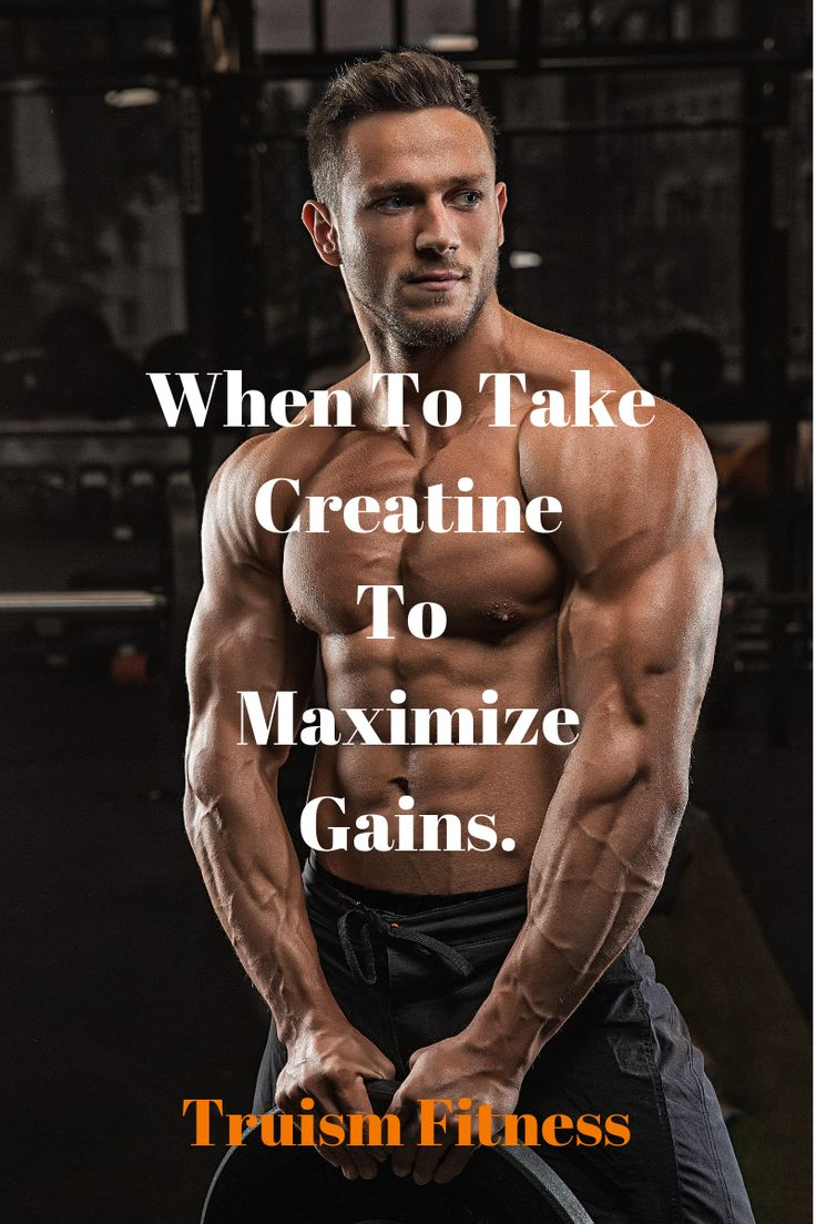 Should You Be Taking Creatine Before Bed Bodybuilding