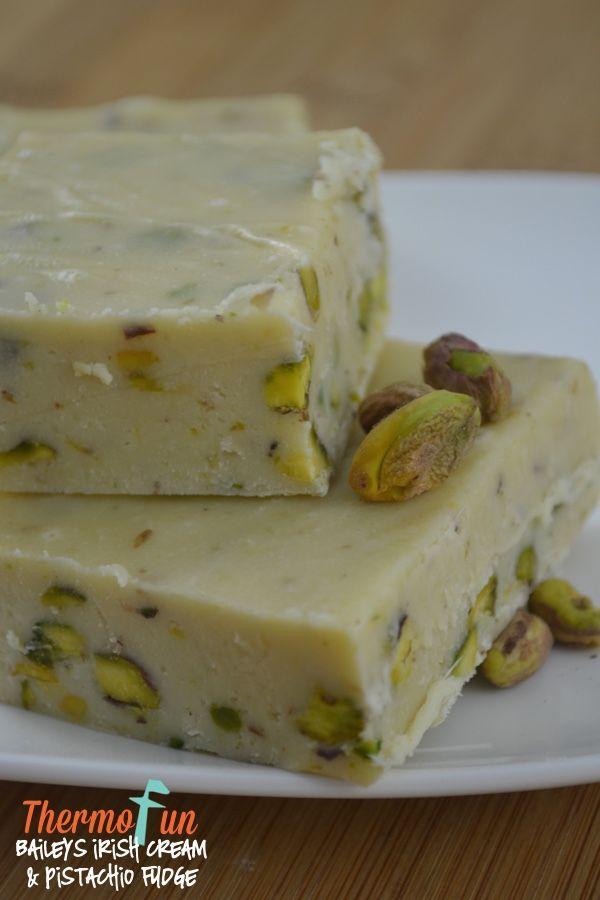 ThermoFun – Baileys Irish Cream & Pistachio Fudge Recipe