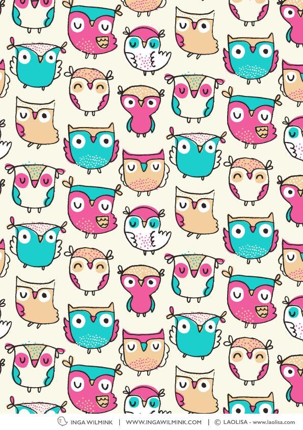 Inga Wilmink for Laolisa - Owls