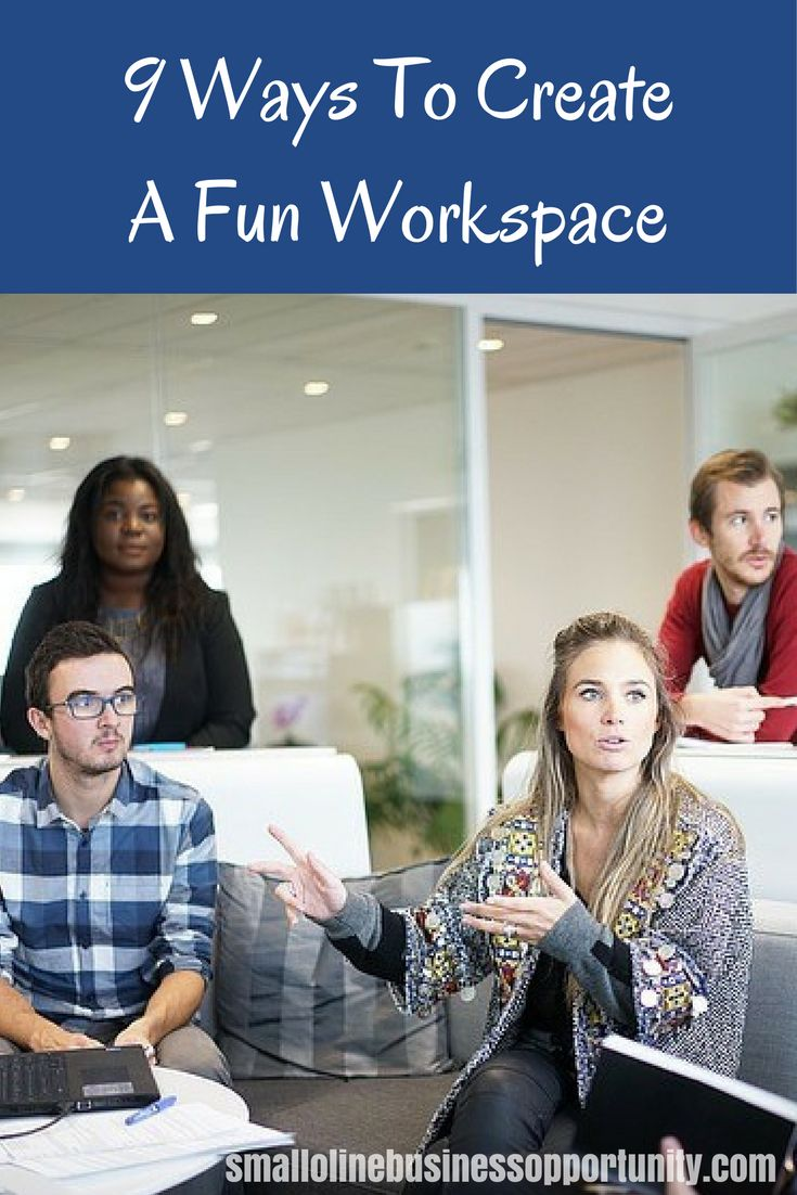 Creating a fun workspace for yourself, or for your employees can make a massive impact on motivation, inspiration and the amount of work that gets done.   Here are some ways to create a fun workspace that you really want to take note of!  #Workspace #FunWorkspace #CreativeWorkspace #Motivation #Inspiration
