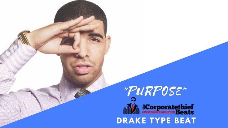 """More Life Drake Type Beat  """"Purpose""""  Energetic Trap Instrumental"""