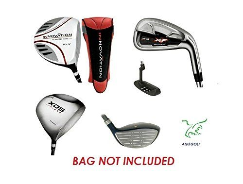 AGXGOLF Men's Left Hand XF Edition Executive Golf Club Set; Callaway Style Irons in Cadet, Regular or Tall Length; Free Putter Fast Shipping