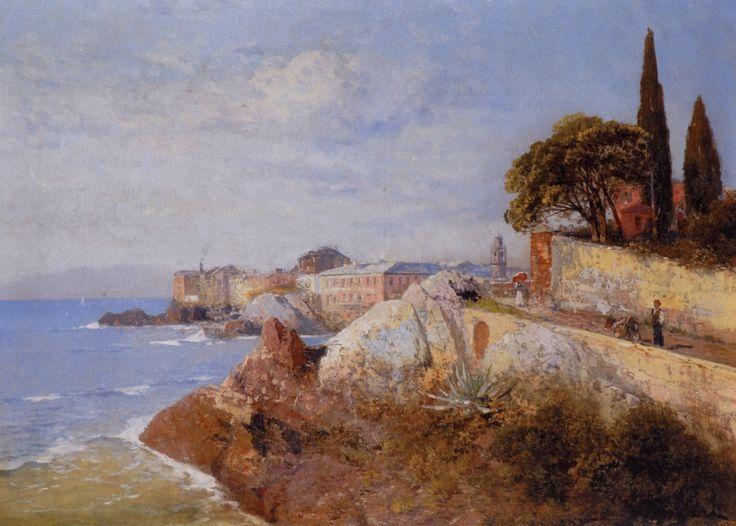 FIGARI-ANDREA-1893-Nervi-o-Veduta-costiera-da-Nervi-olio-su-tela-75x105-firmato-in-basso-a-destra-PITTORILIGURI.INFO_.jpg (2104×1506)