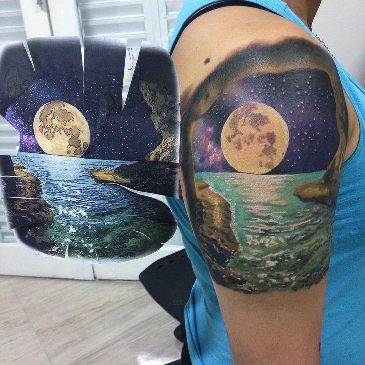 Mar e Lua cheia...endereço... Av: Leomil 829 , centro Guarujá .... WhatsApp 997045756 .... recepcionista Cintia ...