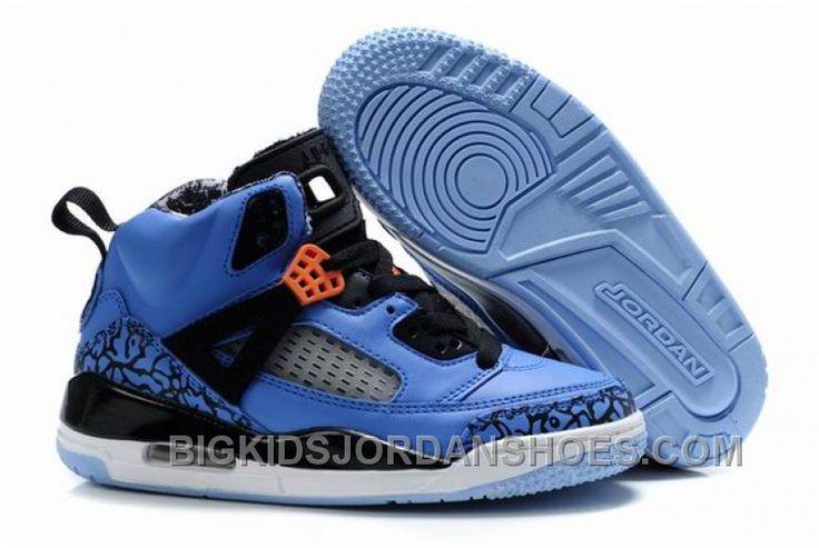 http://www.bigkidsjordanshoes.com/kids-air-jordan-spizike-35-blue-black-for-sale.html KIDS AIR JORDAN SPIZIKE 3.5 BLUE BLACK FOR SALE Only $75.67 , Free Shipping!