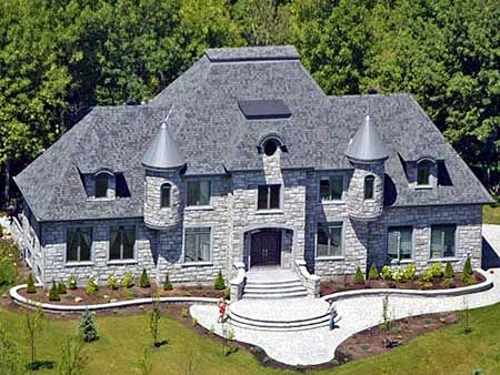 french chateau home plans - photo #12