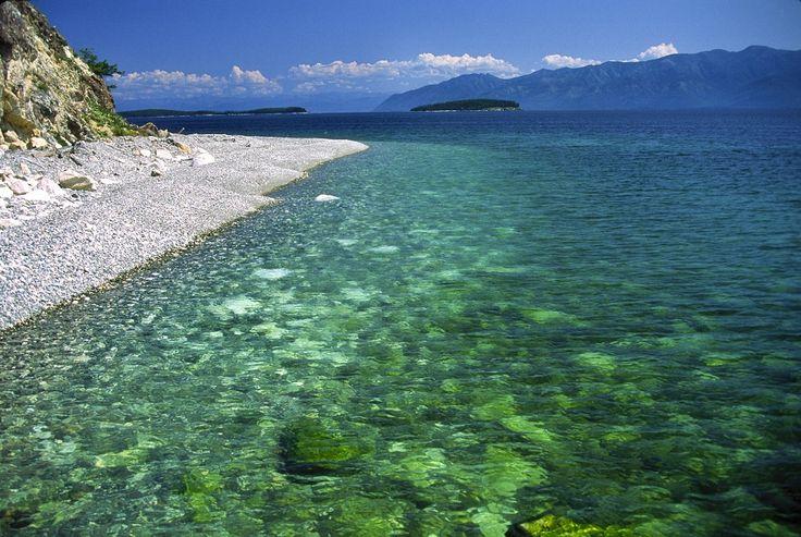 Deep fresh Crystal Clear Aquatic beauty!  Visit Lake Baikal in Russia