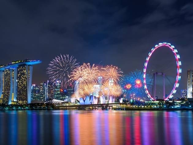 Where To Catch New Year S Eve Fireworks In Singapore For Free New Years Eve Fireworks Fireworks Singapore
