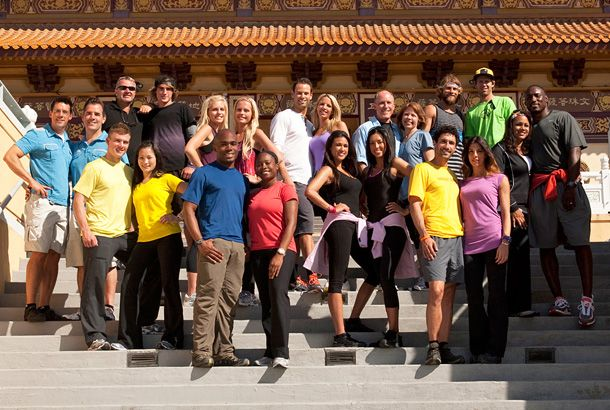 """The Amazing Race's 19th season features new destinations (Indonesia, Denmark), a new twist (the """"Hazard"""") and promising new teams, including Vegas showgirls, a former NFL star, an Olympic snowboarder and a Survivor-champ couple (Ethan Zohn and Jenna Morasca). As the award-winning reality show celebrates its 10th anniversary, Snakkle looks back at The Amazing Race's 10 most memorable moments."""