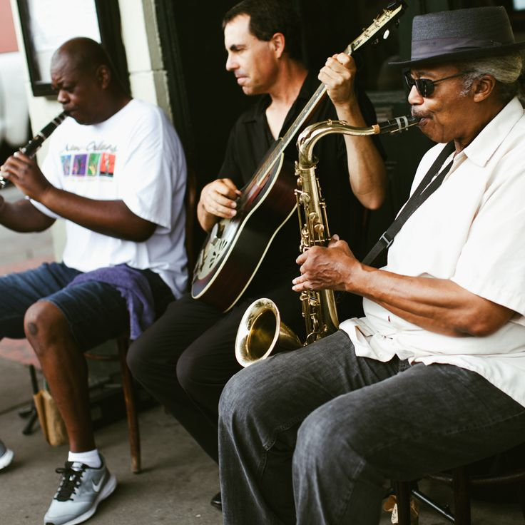 We don't have the Monday blues in New Orleans, we play them.