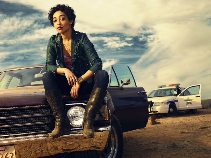Preacher (on AMC)  This character is called Tulip, and she is magnetic on screen, just a powerhouse.
