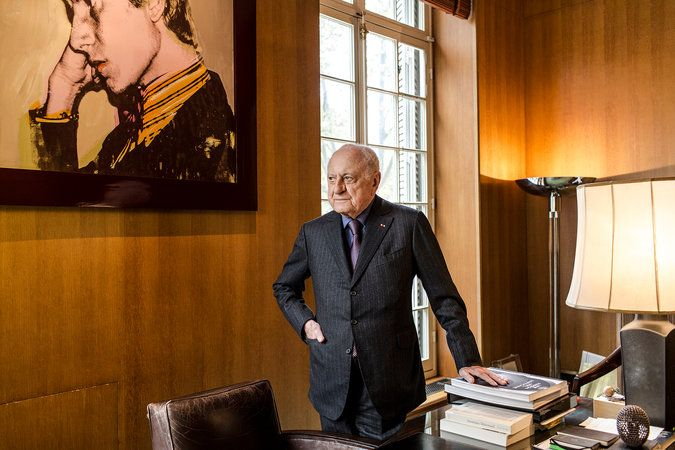 Pierre Bergé on Luxury, Morocco and Hedi Slimane - The New York Times