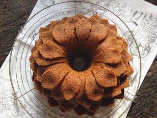 una chispa de dulzura: Bundt Cake de Plátano Nueces y Chocolate