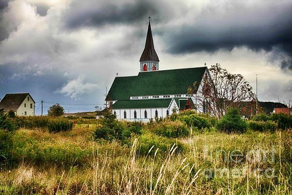 Reaching the Heavens - Heritage Church in Trinity, Newfoundland, Atlantic Canada