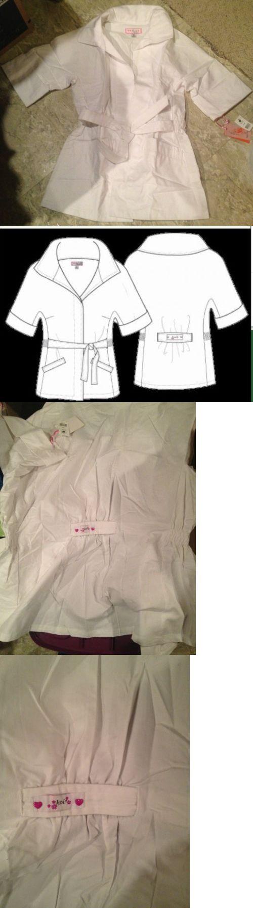 Lab Coats 105417: New! Koi By Kathy Peterson Sydney White Lab Coat Scrub Jacket! Size Xs! Feminine -> BUY IT NOW ONLY: $44.99 on eBay!
