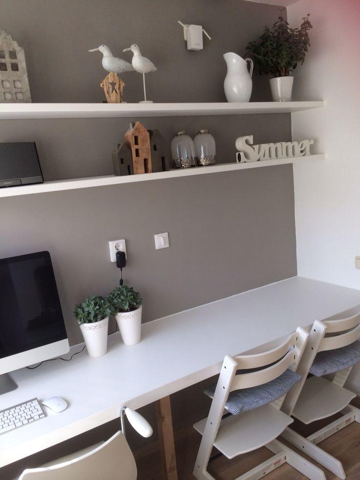 25 beste idee n over klein slaapkamer kantoor op - Photo deco kantoor ...