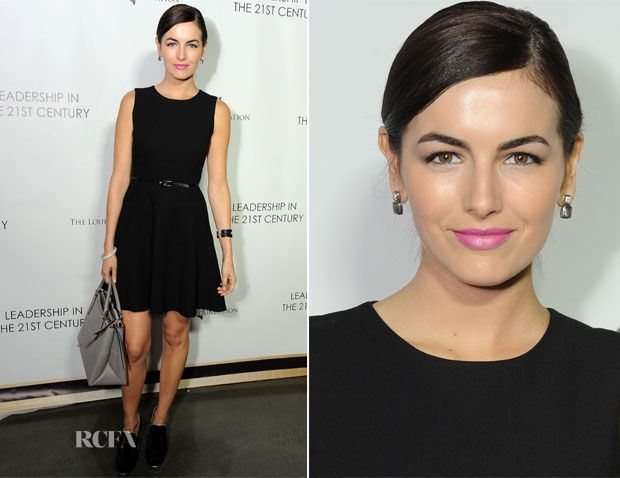 Camilla Belle In Shoshanna – Q&A With His Holiness the 14th Dalai Lama