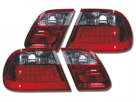 - easy mounting - best processing - incl. cable loom for LED, LED bulbs incl. - 1 Set contains 2 tail lights - Yr:95 -98 - with e -certified (reg free) - LED tail lights We ship by DHL Paket to Europe,USA,Canada,Australia, South Africa and Mexico. Delivery takes about 3-6 days to Europe and 7-15 days for USA, Canada, Australia, South Africa and Mexico after confirmed payment by PayPal.