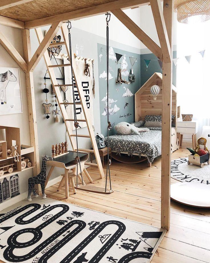 Fun kids room! #NURSERYDECOR  KID ROOMS in 2018 Bedroom, Kids