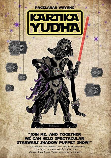 TOYSREVIL: 'Kartika Yudha' ('Wayang Kulit Star Wars') by Is Y...