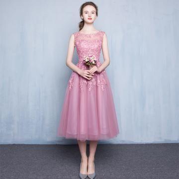Tyl Áčkový střih Elegantní Plesové šaty levný