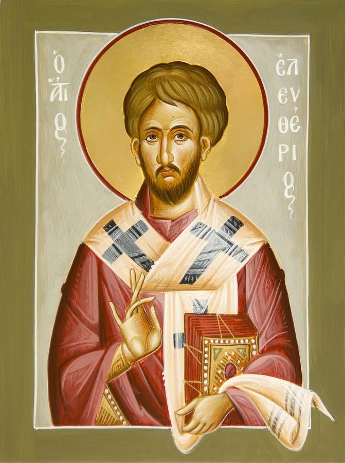 St Eleftherios Painting
