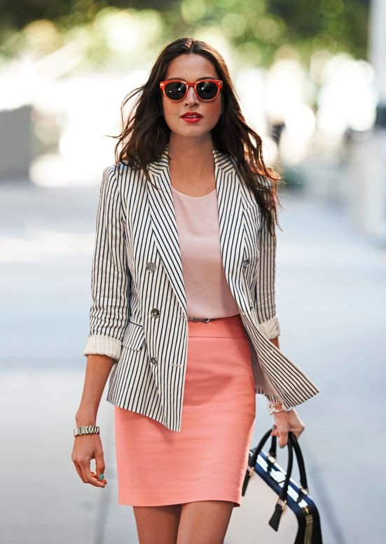 More preppy but still love the look