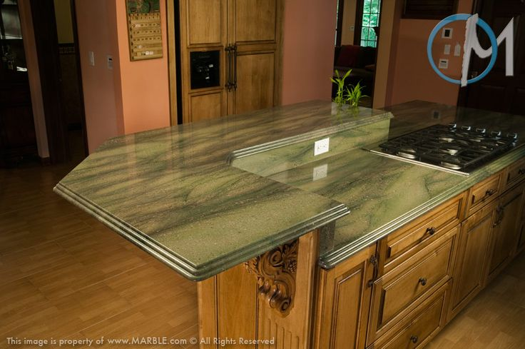 If You Re Fond Of The Color Green Verde Sequoia Granite