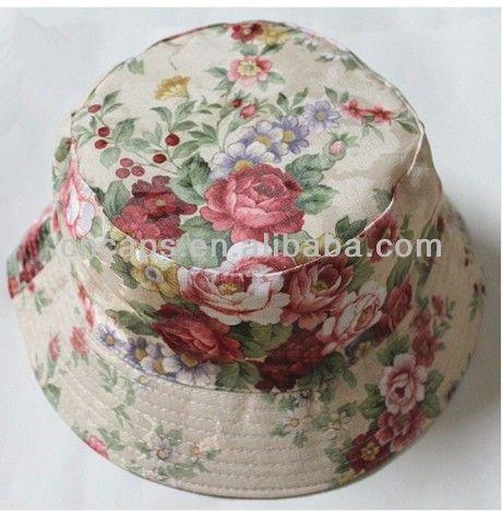 Floral Bucket Hats,Wholesale Bucket Hats,Cheap Bucket Hats $1.25~$5.2