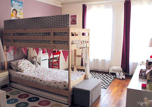 1000 id es sur le th me chambres avec lits superpos s sur pinterest lit sup - Separer une piece en 2 ...