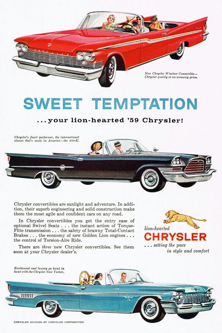 1959 Chrysler Windsor, 300-E & New Yorker http://classic-auto-trader.blogspot.com