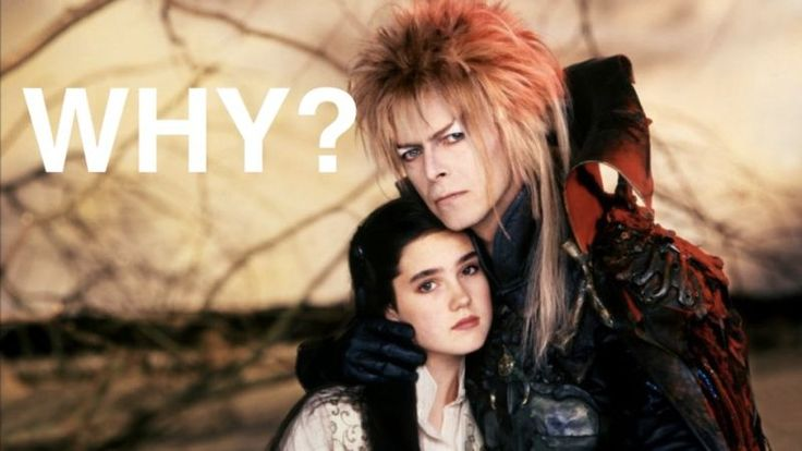 "Someone has just attempted to answer the age-old Labyrinth question, ""Why did David Bowie kidnap a child from Jennifer Connelly?""  This incredibly well thought-out hypothesis is so compelling that we have no choice but to commit it to our minds, as Jim Henson canon."