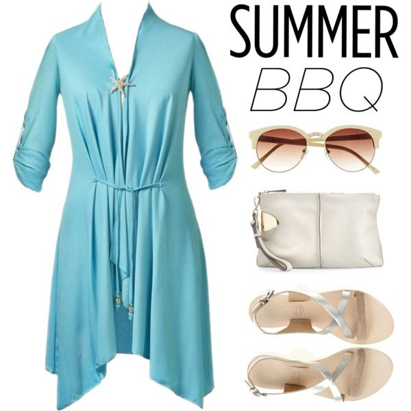 """""""Summer BBQ"""" by uvcouture on Polyvore"""