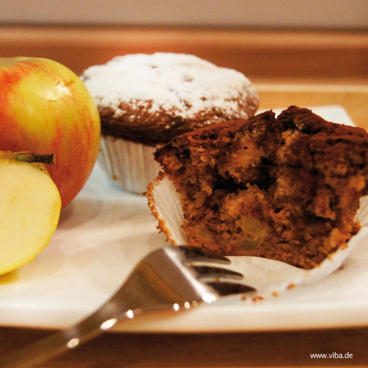 Apfel-Nougat Muffin.   Copyright © 2012, Viba sweets GmbH