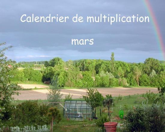 Multiplier et bouturer des plantes en  mars. Calendrier de multiplication