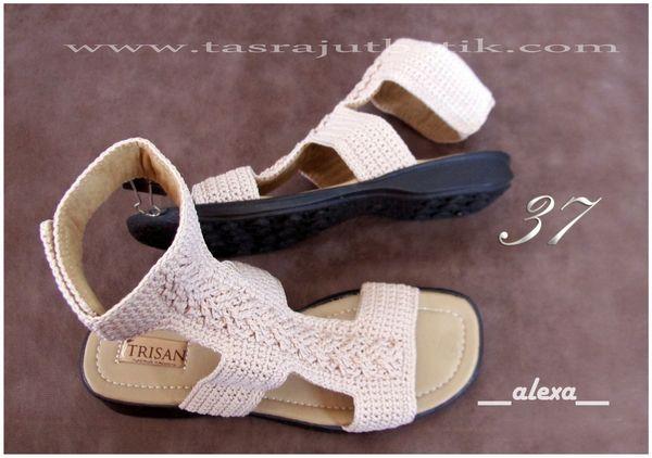 Sepatu Rajut ALEXA flat shoes