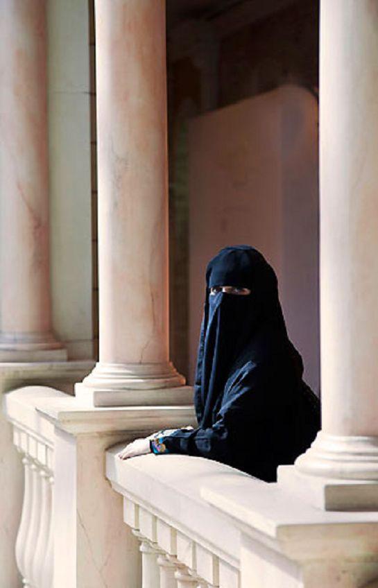 United Arab Emirates, Dubai, Arab Woman in a Hijab
