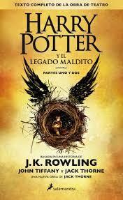 Read, you clever boy: Harry Potter y el legado maldito  #HarryPotter #HarryPotteryellegadomaldito #JKRowling #libros #lectura #obradeteatro #opinión #blogliterario