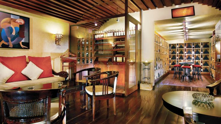 Relax and unwind from the Hustle & Bustle of the City at The Cellar Lounge at Four Seasons Hotel Jakarta. Enjoy a vast selection of wines from around the world, liquor and cigars for your enjoyment and tapas for a light meal.